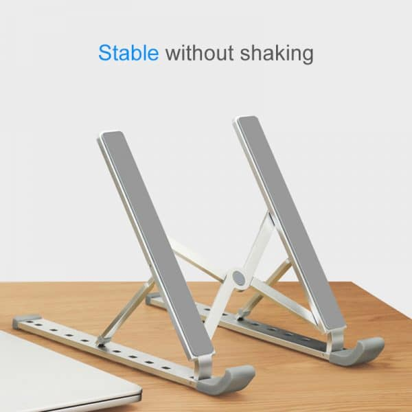 Aluminum Alloy Adjustable Notebook Stand Foldable Laptop Stand
