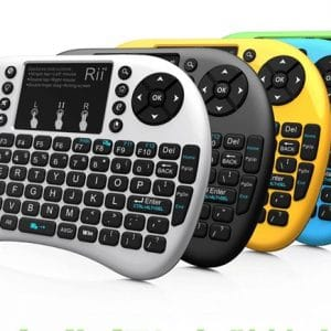 Rii mini i8+ wireless mini backlight soft keyboard mouse and keyboard one