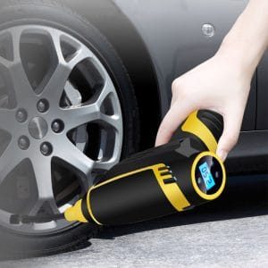 Digital LED smart car air compressor